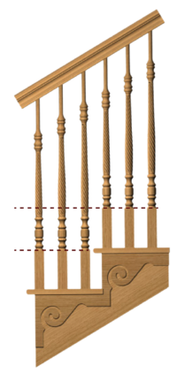 5-Length Baluster System